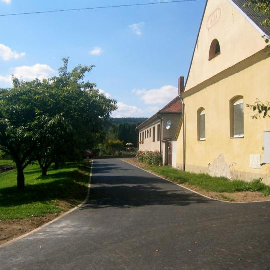 Budíškovice - náves